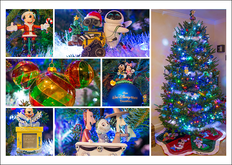 Christmas Tree Decorations By Disney Photo Sner