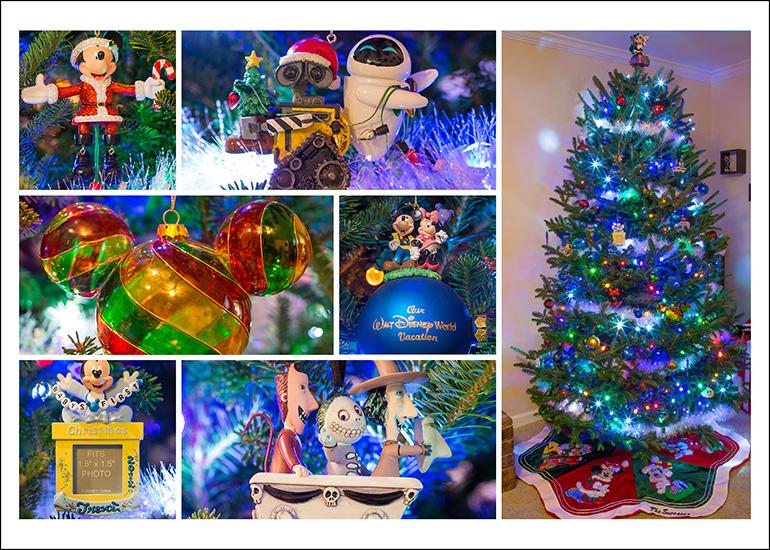 christmas tree decorations by disney photo snapper - Disney Christmas Tree Decorations