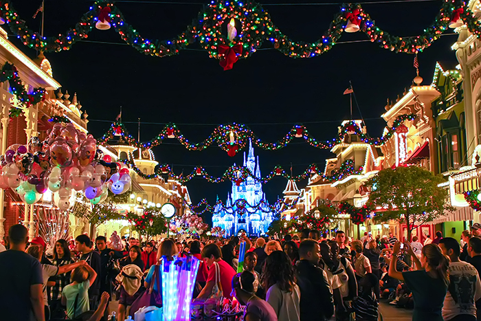 first time corner christmas day at wdw wdw magazine