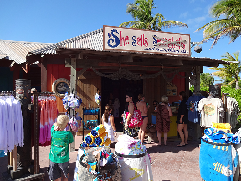 she sells seashells and everything else - castaway cay