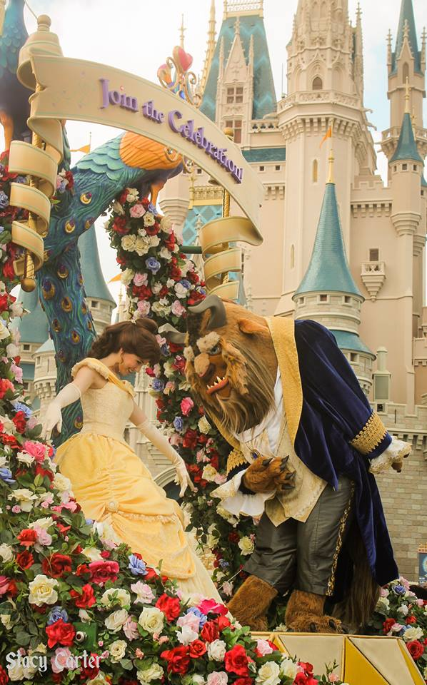 Belle and the Beast would be invited to My Ultimate WDW Christmas Dinner!