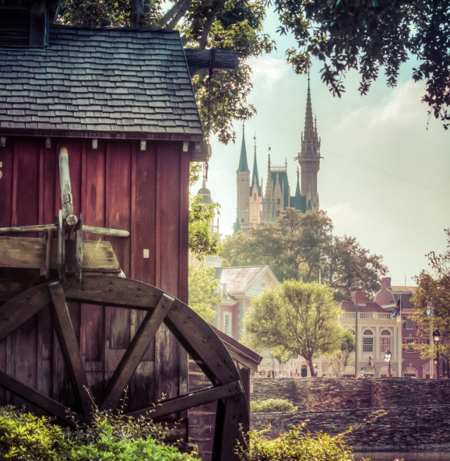Tom Sawyer Island is a great place to explore! Photo by Brett Svenson.