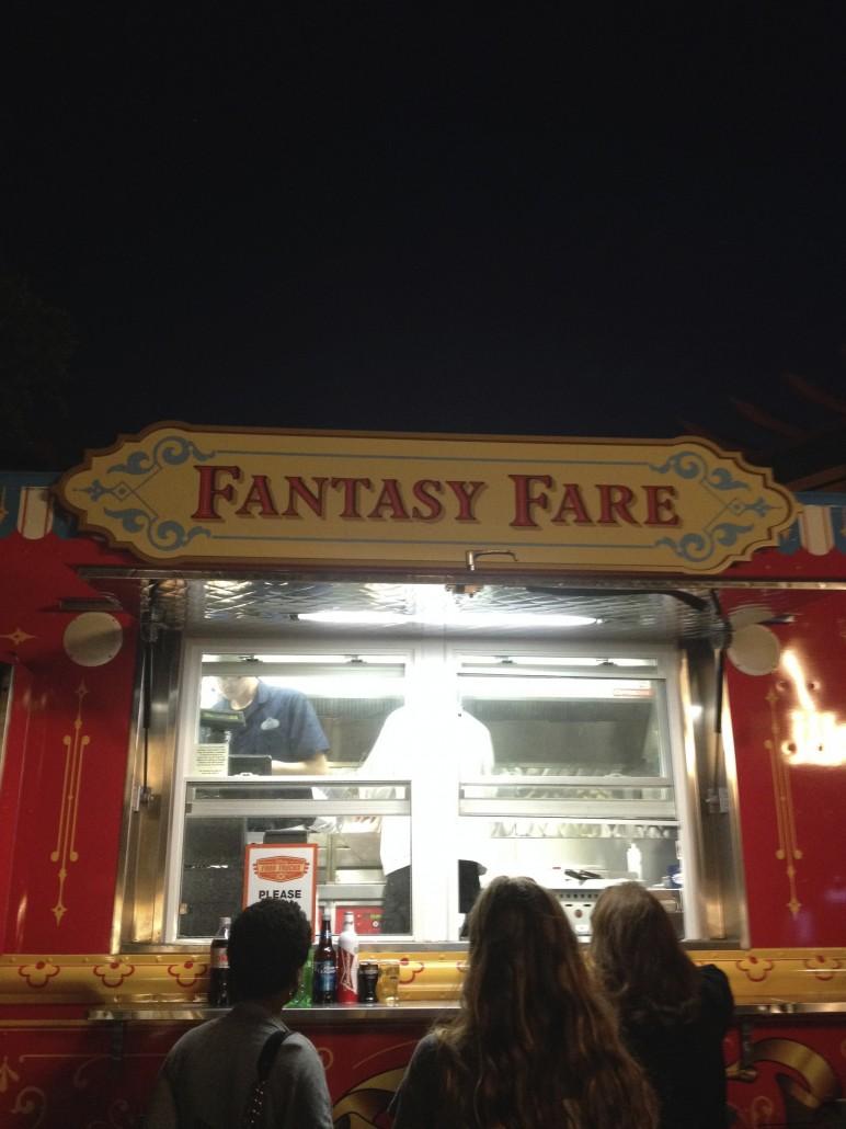 Fantasy Fare Food Truck. Photo by Stephanie Shuster.