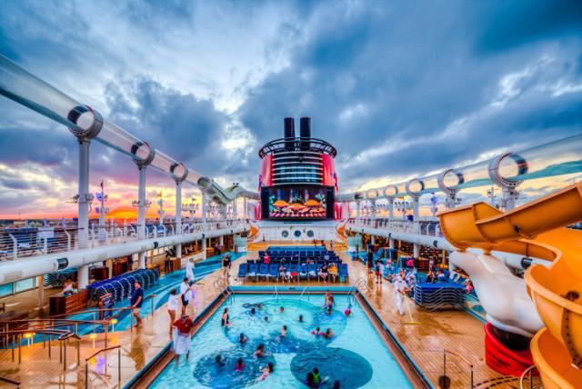Disney Cruise Line Ship deck