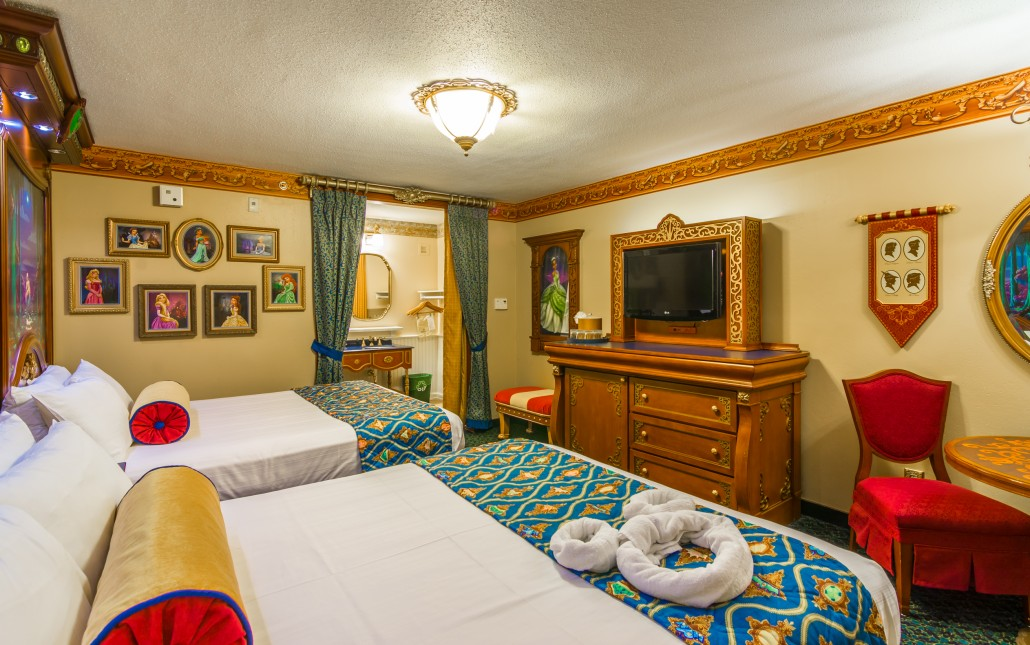 Royal Rooms at the Port Orleans Riverside are something special.  Photo by WDW Shutterbug.