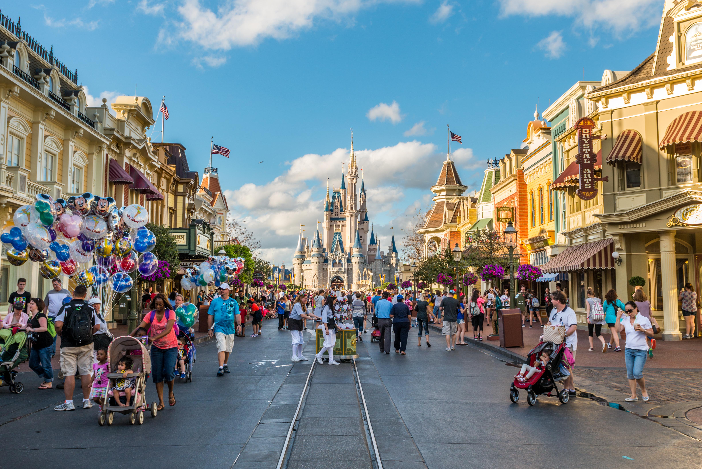 Disney World Pictures - Cinderella Castle