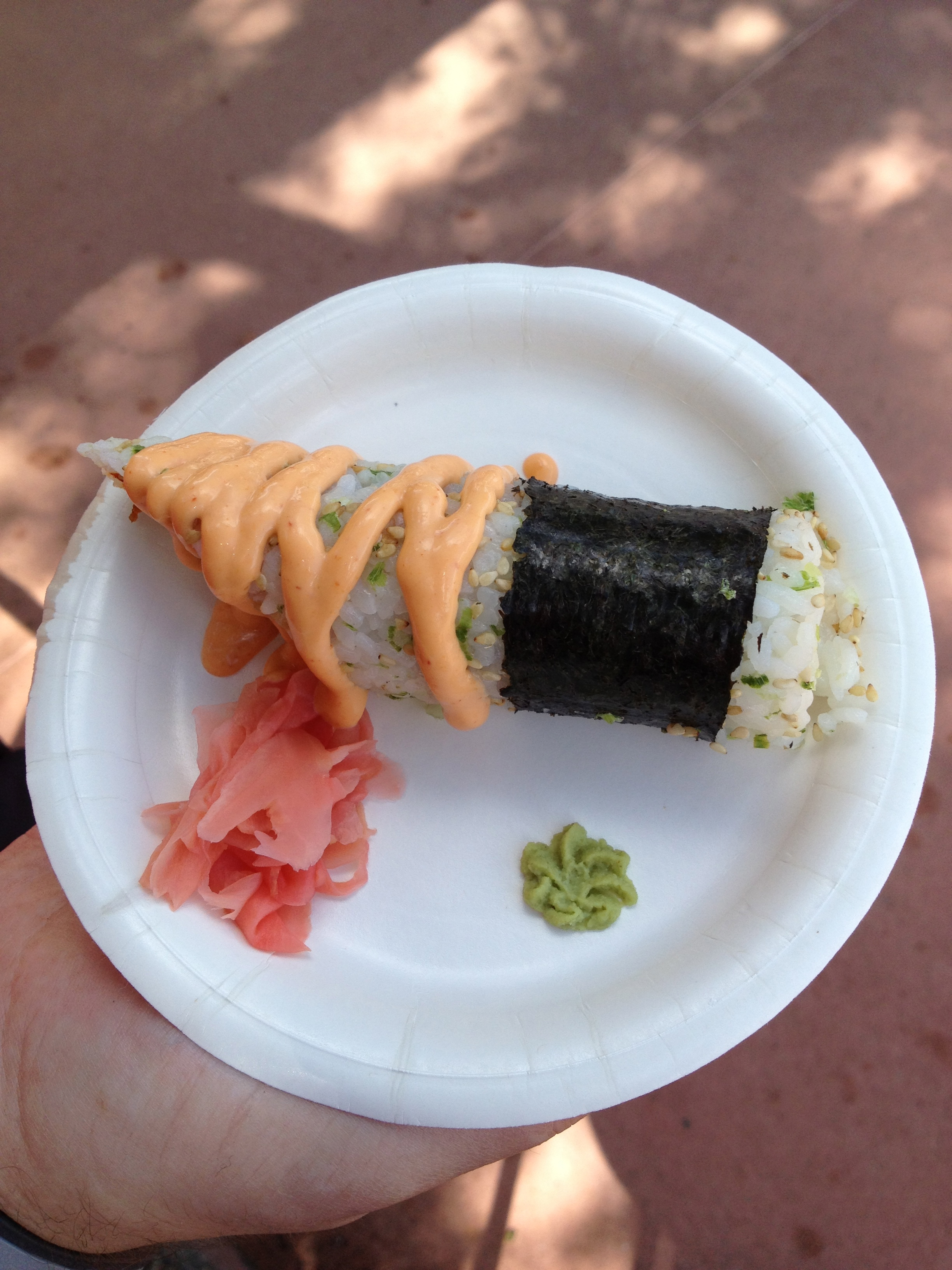 Can you believe this is theme park food? Or that you can gt it with 1 Disney Dining Plan snack credit?Photo by Stephanie Shuster.