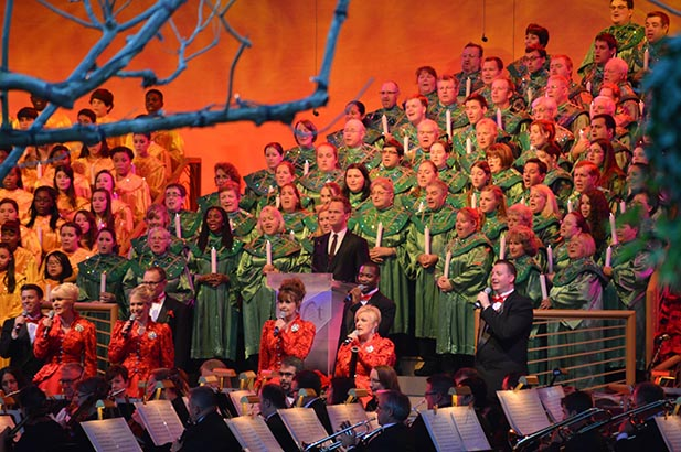The Candlelight Processional - Photo by Mike Billick