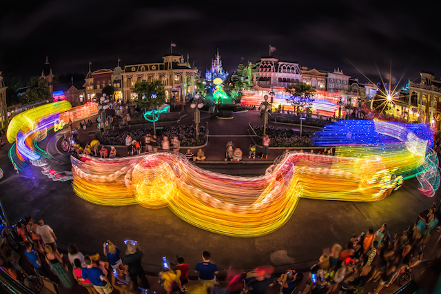A Classic: The Main Street Electrical Parade. Photo by Judd Helms.