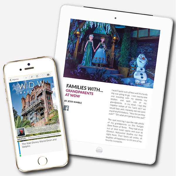 WDW Magazine in the iTunes Store