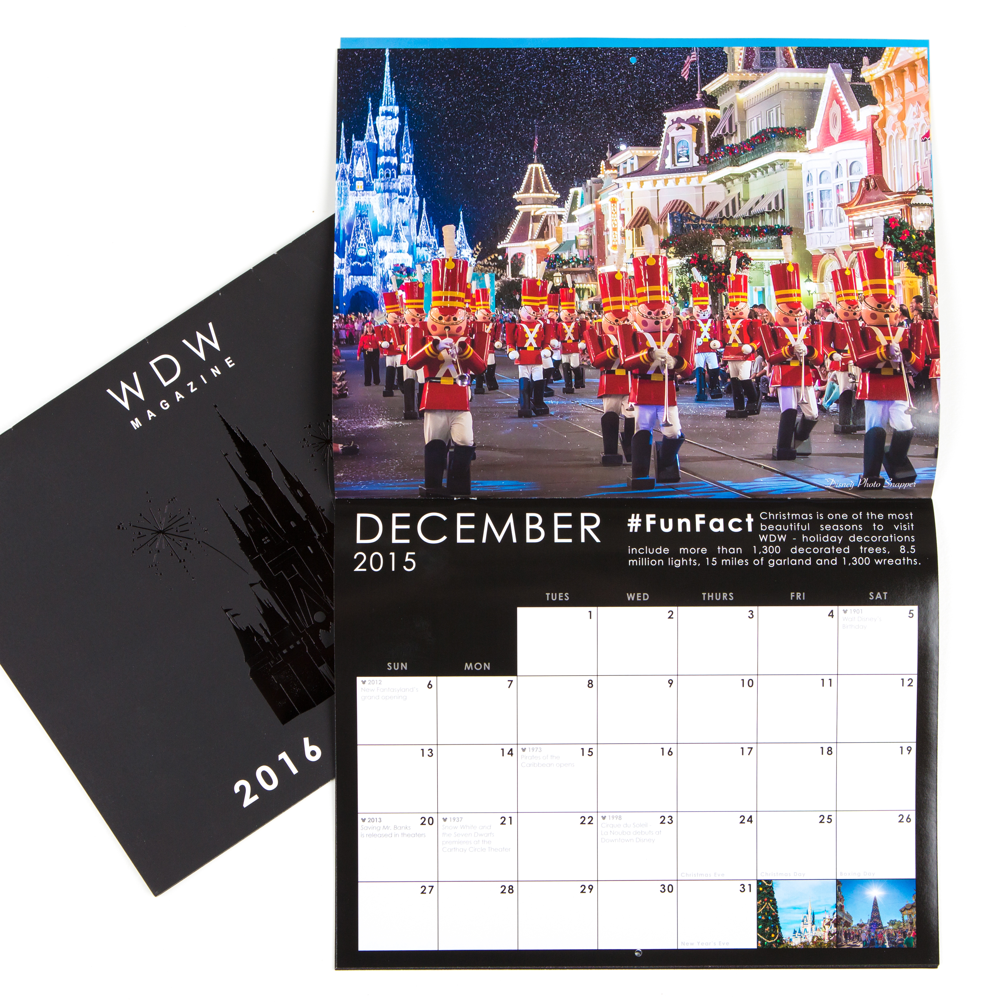 2016 WDW Magazine Wall Calendars - WDW Magazine
