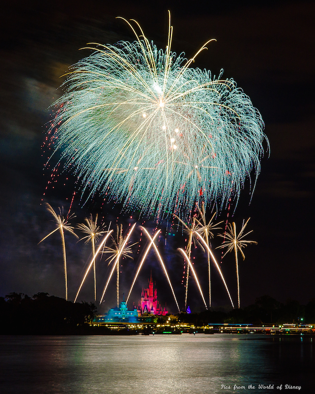 Wishes from the water of the Seven Seas Lagoon - Photo by Laurie Sapp.