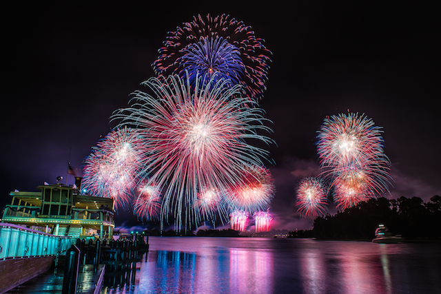 All aboard the FerryTale Wishes Fireworks Cruise! Photo by Laurie Sapp.