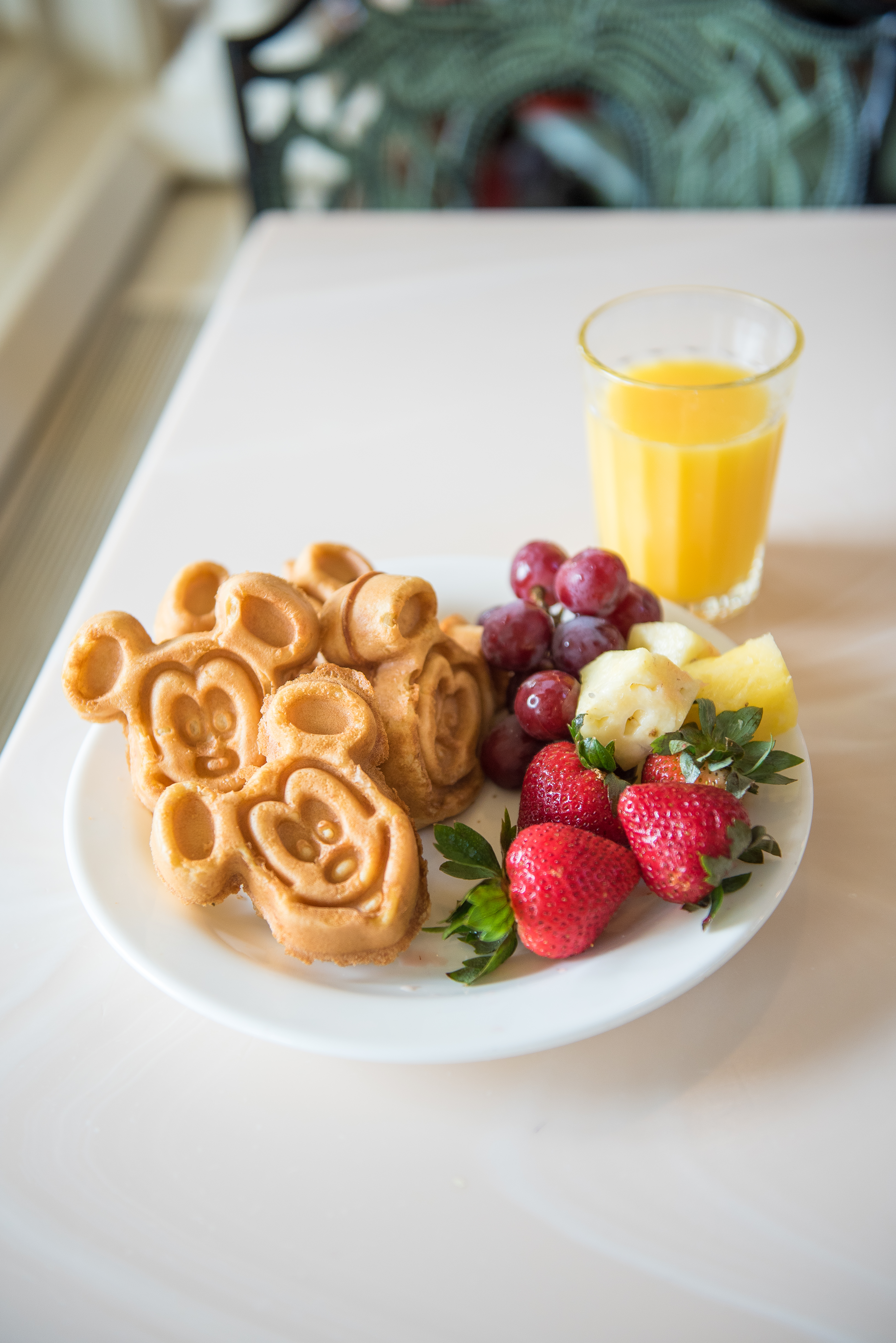 Mickey Waffles are the perfect start to the day - photo by Laurie Sapp.
