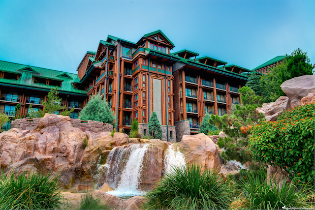 New DVC waterfront cabins will be coming to Wilderness Lodge! Photo by Mike Billick