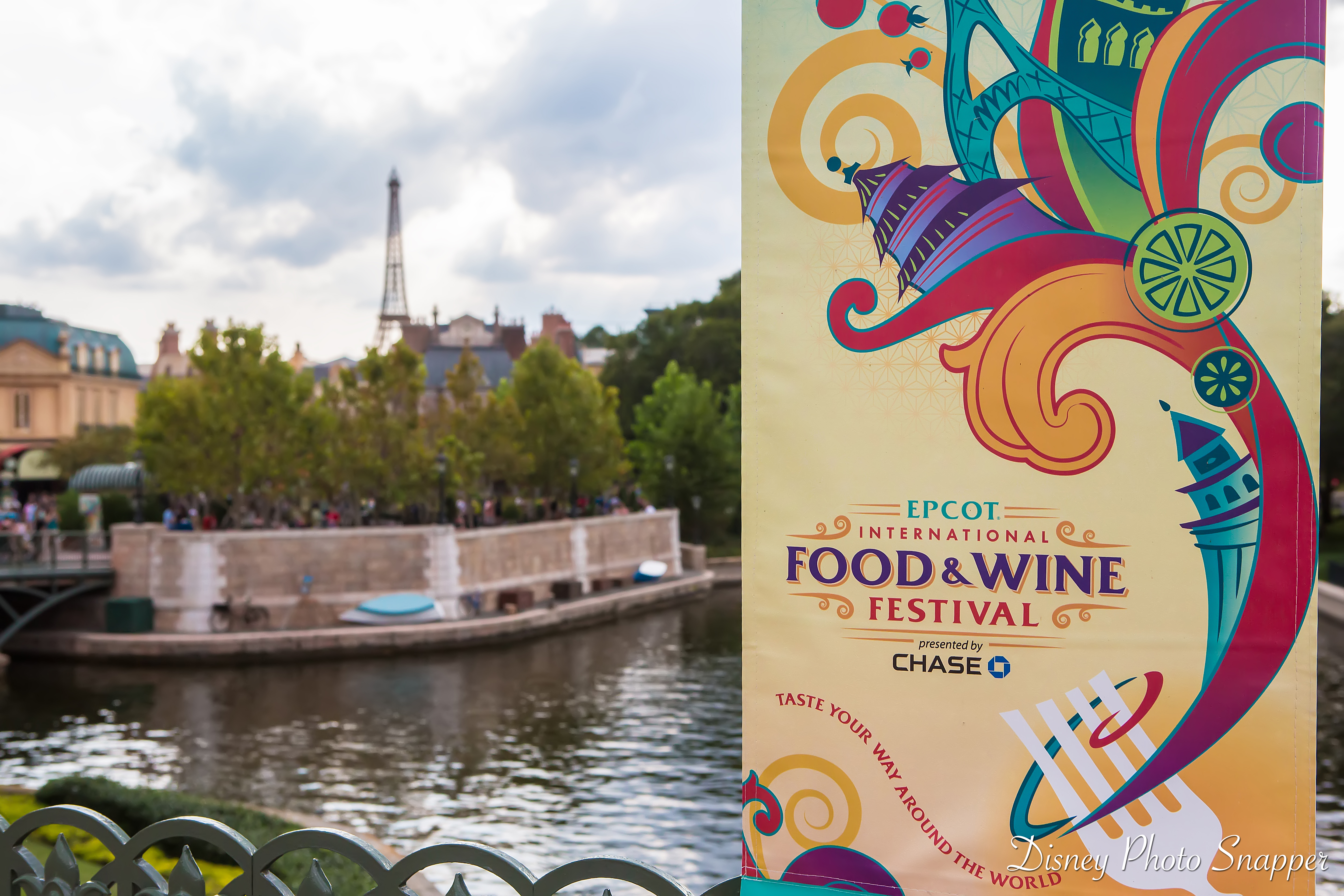 The Epcot Food and Wine Festival is celebrating its 20th year with more special events than ever! - Photo by Brett Svenson