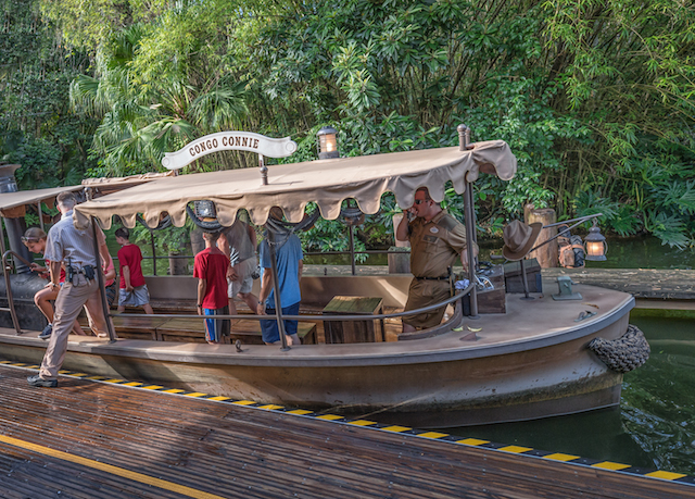 It's the chance of a lifetime to skipper your own Jungle Cruise boat! Photo by Judd Helms.