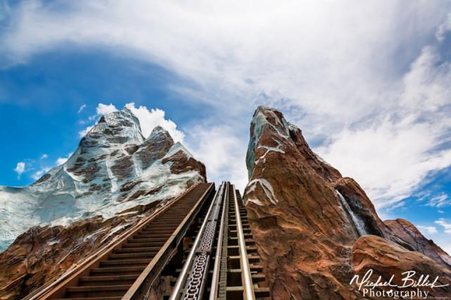 Expedition Everest Track at Walt Disney World