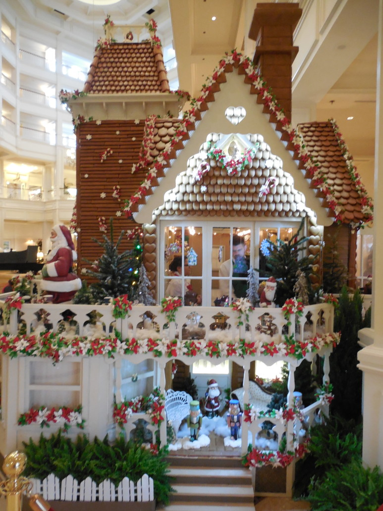 Grand Floridian Gingerbread House. Photo by Jason Dick.