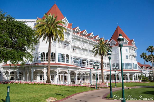 The creme de la creme of Disney resorts - the Grand Floridian! Photo by Brett Svenson.