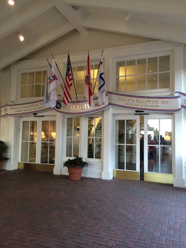 Welcome home to your DVC room at Disney's BoardWalk Villas! Photo by Kathleen Logan Wolfe.