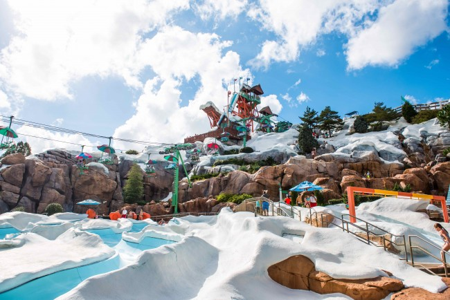 blizzard beach - what does disney world look like