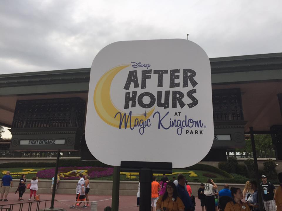 After Hours at the Magic Kingdom! Photo by Patrick Pulliam.