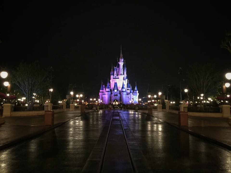 Cinderella Castle, After Hours! Photo by Patrick Pulliam.
