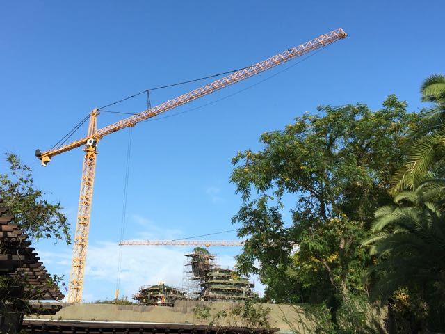 Major progress being made on the floating mountains of PANDORA – The World of Avatar!