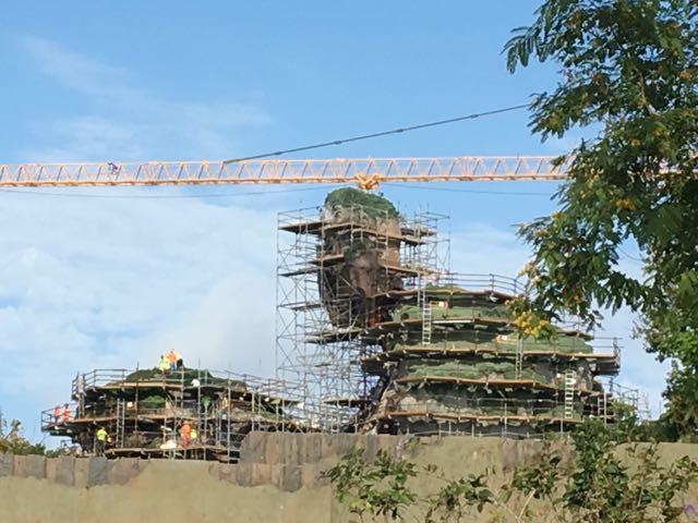 That crane looks even more massive in person...