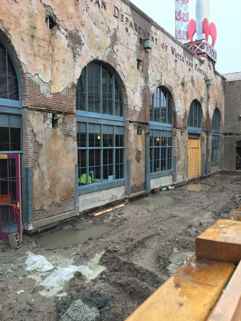 Here's what's left of Pizza Planet!  What do you hope this space will become?