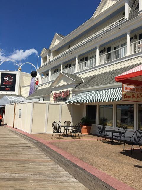 Ample Hills Creamery is taking over The Yard Arcade and ESPN Store on Disney's BoardWalk.