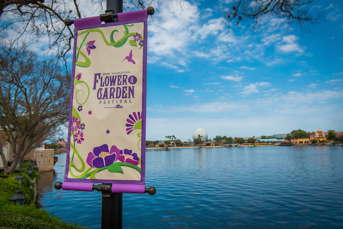 It's a great big beautiful tomorrow at the Epcot International Flower & Garden Festival! Photo by Cliff Wang.