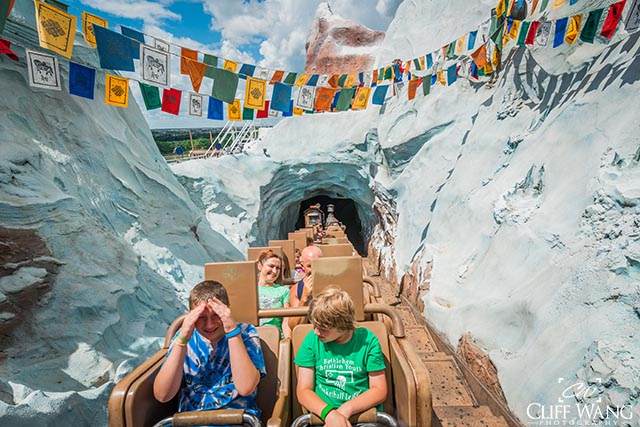 Expedition Everest goes fast, is thrilling, and boys of all ages love it