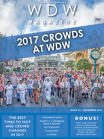 The 2017 Crowds at WDW issue of WDW Magazine