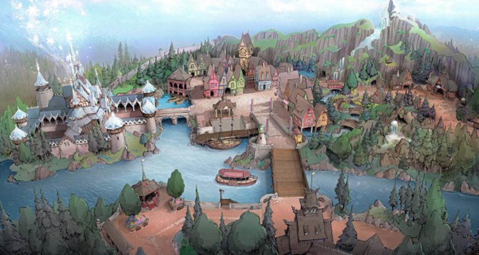 Arendelle comes to Tokyo Disney Sea