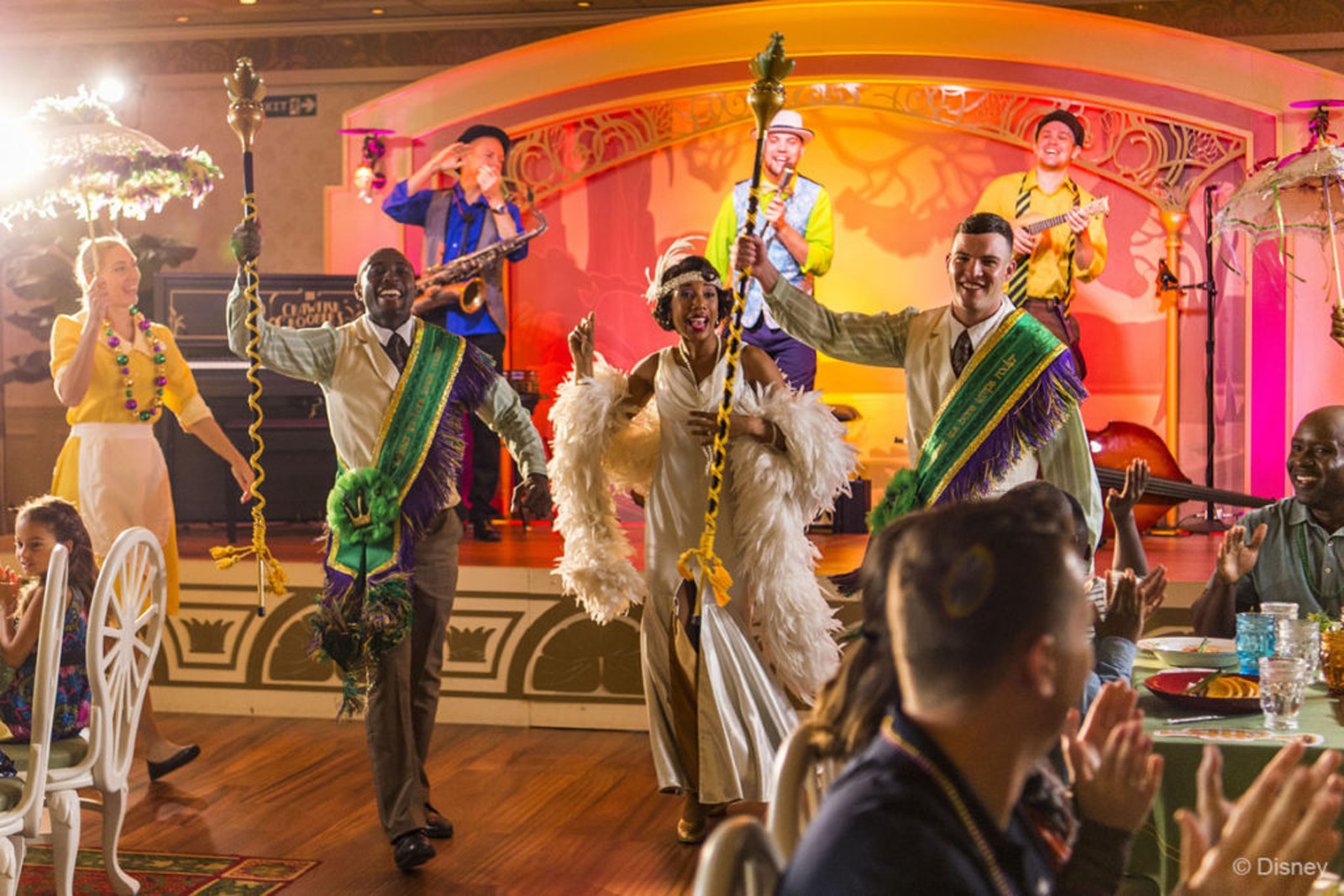 Tiana's Place on the Disney Wonder