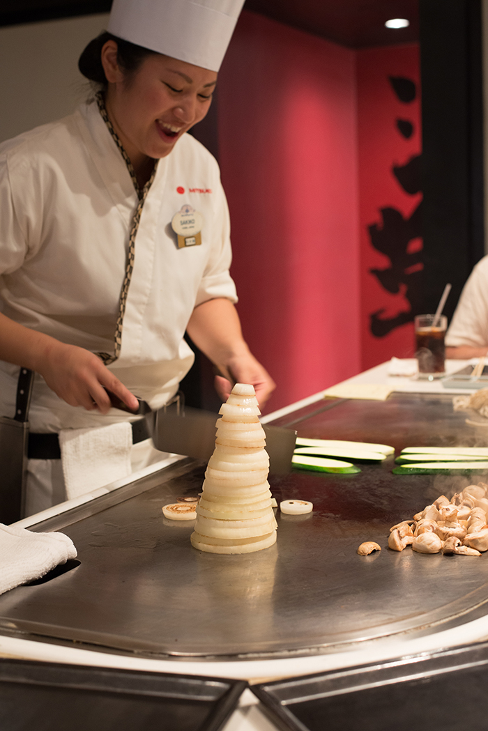 most popular walt disney world restaurants: teppan edo