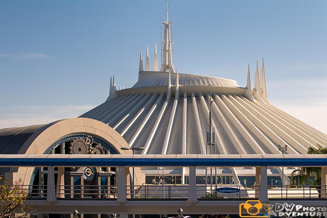Pooh Sized People can ride Space Mountain