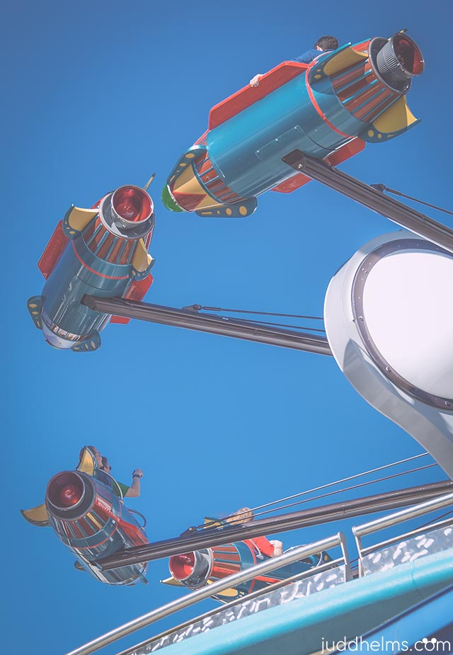 Astro Orbiter is a high flying thrill ride