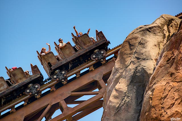 Expedition Everest is a Thrill ride at Walt Disney World for even Pooh sized people