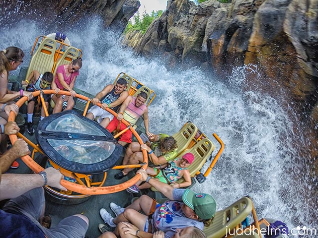 Even Pooh sized people ride Kali River Rapids