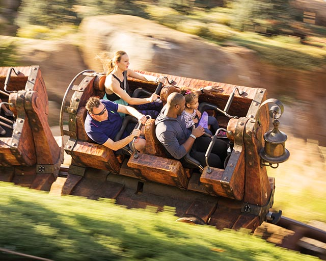Seven Dwarfs Mine Train is the most uncomfortable Walt Disney World thrill ride for pooh sized people