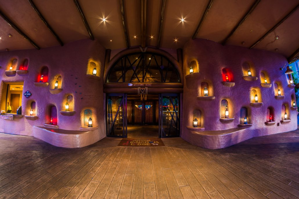 Animal Kingdom Lodge is one of our Top 5 Disney Hotels - After Dark!