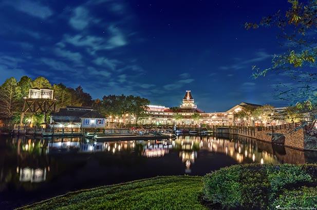Port Orleans Riverside is one of our Top 5 Disney Hotels - After Dark!