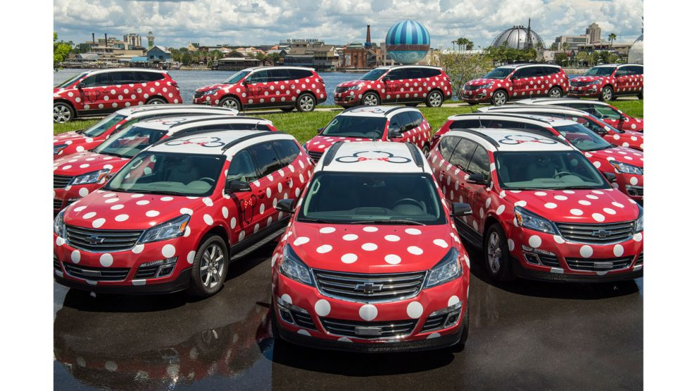 Minnie Vans are one of the big changes at WDW in 2017