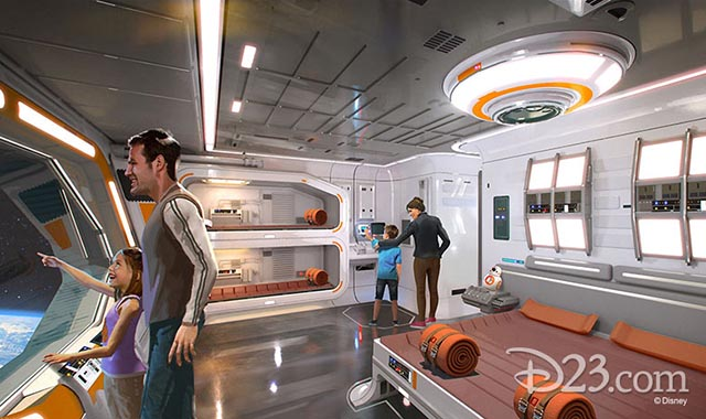 The Star Wars interactive hotel looks amazing
