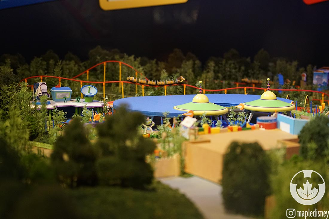 The new Toy Story Land model is one of the cool new changes at Disney's Hollywood Studios