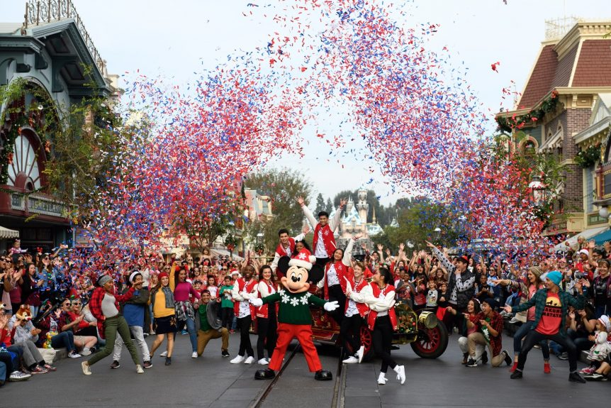 Mickey Mouse Club at Disney Parks Magical Christmas Celebration on ABC