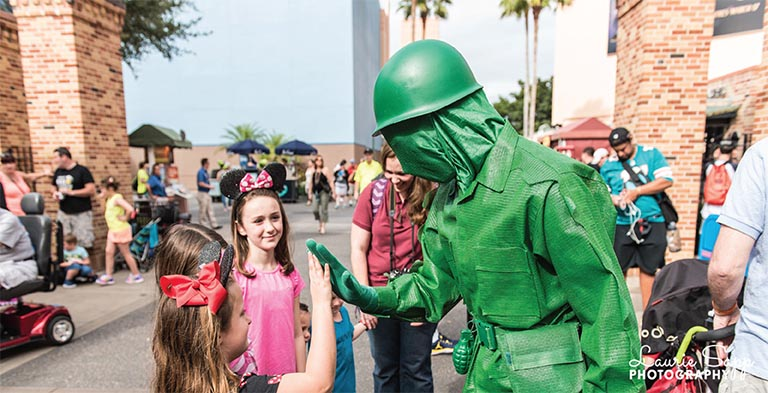 The Green Army Man should be roaming the streets of Toy Story Land as one of the Coming to WDW  in 2018 events